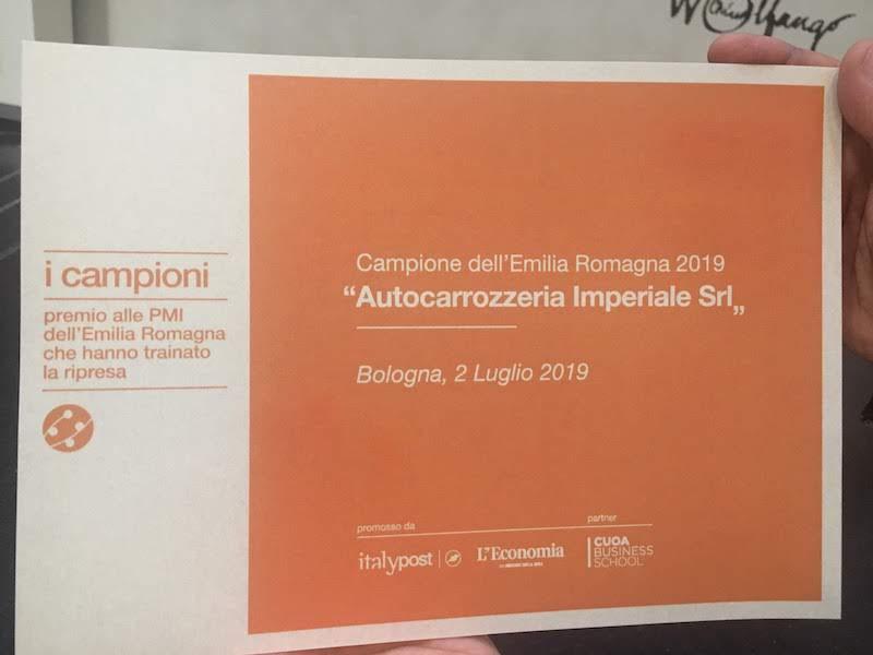 Campione Emilia Romagna 2019 - Imperiale Group