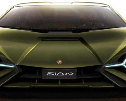 Verniciatura Lamborghini Sian Imperiale Group