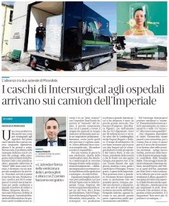 Collaborazione Imperiale group Intersurgical