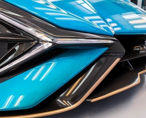 Verniciatura Lamborghini - Carbon Look