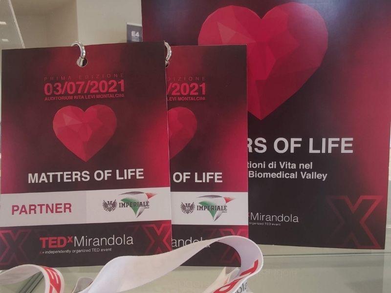 Imperiale Group | Premium Partner TEDx Mirandola 2021